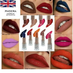 PHOERA SUPER STAY WATERPROOF MATTE LIPSTICK LONG LASTING MOISTURIZER LIP STICK