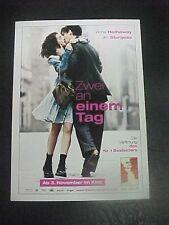 ONE DAY, film card [Anne Hathaway, Jim Sturgess]