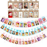 Baby Birthday Photo Wall Banner Kids Birth Growth Memory Recording Impression