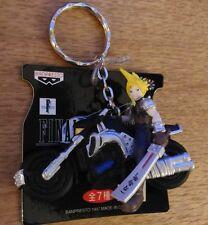 Final Fantasy 7 VII BANPRESTO Figure Keyholder Key Chain Cloud Bike
