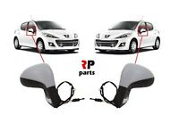 FOR PEUGEOT 207 06-12 NEW WING MIRROR MANUAL PRIMED WITH INDICATOR PAIR LHD