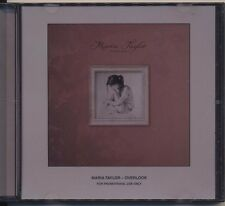 Overlook by Maria Taylor (CD 2011, Saddle Creek) RARE ADVANCE PROMO!  SHIPS FREE