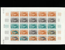 """Somali Coast 1967 Reptile""""Desert Monitor""""Trial Color Proof Sheet of 25 TYPE 3"""