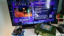 Halo Special Edition Original Microsoft Xbox Green (Console Only) Nice! Works!