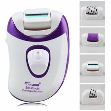 4in1 Callus Remover Electric Rechargeable Epilator Women Hair Removal EU Plug SH