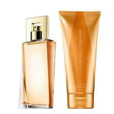 Avon Attraction Rush for Her EDP Perfume and body lotion