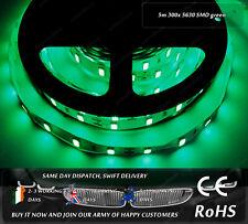 5m 300x 5630 Green LED SMD Home Indoor Interior Car Strips Lights DC12V