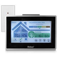 MEBUS Funk Wetterstation mit Touch-Display und Außensensor