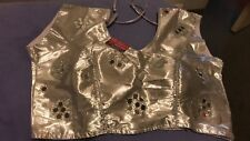Indian party blouses in golden, silver and black. They are brand new.