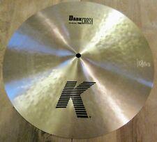 "Zildjian 16"" K Dark Thin Crash Cymbal - K0902"