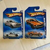 Hot Wheels Lot 2x '65 Mustang Fastback Muscle Mania/Mustang Mach 1 Rebel Rid CL7