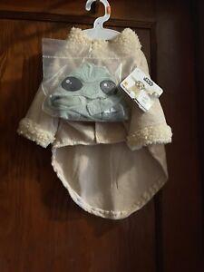 New Disney Star Wars THE CHILD Mandalorian Baby Yoda Pet Costume Size M