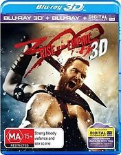 300 Rise of an Empire 3D & 2D Blu-Ray New & sealed