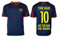 FC Barcelona  Soccer Jersey  *Add Any Name and Number Lionel messi 10 BLUE-T1E28