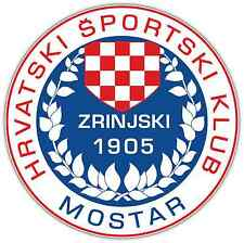 "HSK Zrinjski FC Bosnia Football Soccer Car Bumper Sticker Decal 4.6""X4.6"""