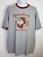 Disney Store T Shirt Royally Grumpy Duke of Discontent 2XL  Gray