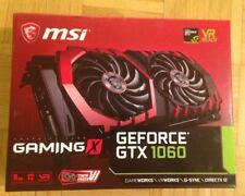 MSI GeForce GTX 1060 GAMING X - 6GB GDDR5 RAM in ungeöffneter Originalverpackung