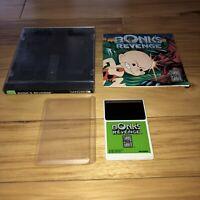 BONK'S REVENGE TurboGrafx 16 Game Complete CIC Tested Super Fun Platformer TG16