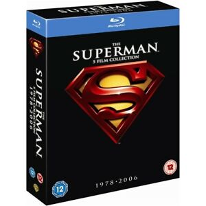 """THE SUPERMAN 5 FILM COLLECTION 1978-2006 BOX SET 5 DISCS BLU-RAY RB """"NEW&SEALED"""""""