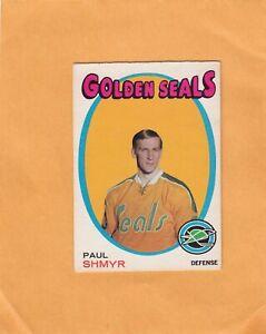 1971-72 O PEE CHEE PAUL SHMYR NO:6  near mint see scan  LOT 221