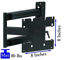 Single Arm Full Motion TV Wall Mount for 22 to 40 Inch Small Medium LED HD TV's