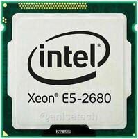 Intel Xeon Processor E5-2680 CPU 2.70Ghz 20MB  LGA 2011 SR0KH Octa-Core 8-CORE