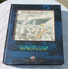 Walt Disney Cruise Line Celebratory Season Large Photo Album & Memory Box VTG
