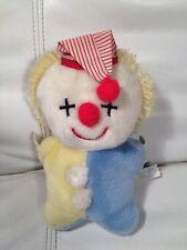Eden Toys Vintage Clown Plush Toy Doll Makes Sounds When Shook