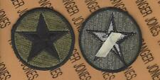 Us Army Opfor Opposing Forces Od Green & Black Bdu uniform patch m/e