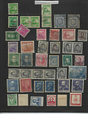 CHILE-SELECTION -MIXED PERIODS-MINT-USED-GOOD AIRS-F-VF--#B1