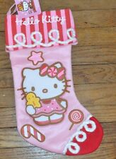 Hello Kitty Stocking 2013 Edition Hard To Find BRAND NEW WITH TAGS