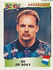 N°094 ED DE GOEY NEDERLAND NETHERLANDS PANINI EURO 1996 STICKER 96
