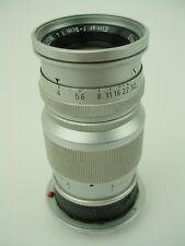 Leica 9cm (90mm) f/4 Elmar-M Ernst Leitz GmbH Rigid Lens Nr.1291330 - Works !