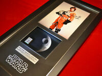 LAST Screen-Used Prop DEATH STAR Signed MARK HAMILL Star Wars, COA, DVD, Frame