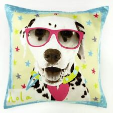 ARTHOUSE HALL OF FAME DOG WITH GLASSES DOUBLE-SIDED CUSHION BEDROOM ACCESSORIES