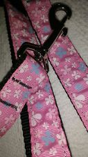 """MIRAGE Large LEAD 4Ft long x 1"""" WIDE TOP QUALITY. Ribbon backed pink butterfly"""