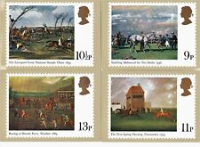 Royal Mail Stamp Postcards PHQ 36 Horse Racing 1979  Complete