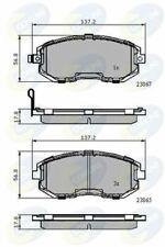 Fits Subaru XV 2.0 D Genuine Allied Nippon Rear Brake Pads Set