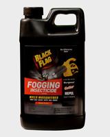 Black Flag FOGGING INSECTICIDE Flying Insect Killer 64 oz Fogger Fuel Refill NEW