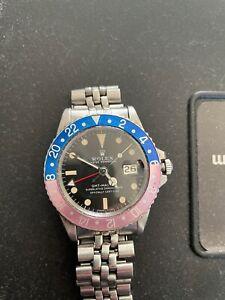 Rolex GMT ref 1675 Pepsi circa 1969 excellent condition original box & bracelet