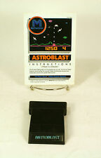 Atari 2600 game Astroblast With Instructions Tested and Working