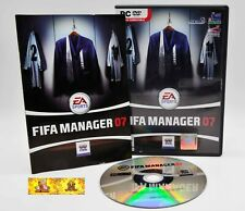FIFA Manager 07 PC Video Game Football Soccer Sports Management Simulation
