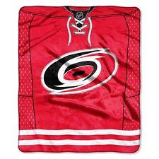 Carolina Hurricanes 50x60 NHL Jersey Design Royal Plush Raschel Throw