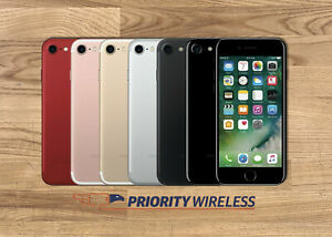 Apple iPhone 7 32/128/256GB A1660 AT&T T-Mobile Verizon Unlocked Great
