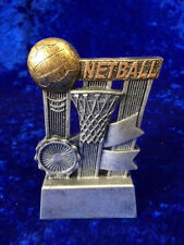 Netball Resin Trophy Team Spirit Adult Girls Competition FREE Engraving