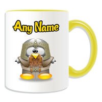 Personalised Gift Yoshi Riding Mug Money Box Cup Fun Novelty Penguin Mushroom