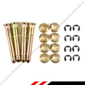 FOR HONDA CIVIC ACCORD CR-V CRX STEEL DOOR HINGE PINS BEARING REPAIR KIT- 4PC