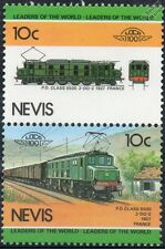 1927 PO / 2D2 SNCF Classe 5500 ELECTRA (France) train timbres / loco 100