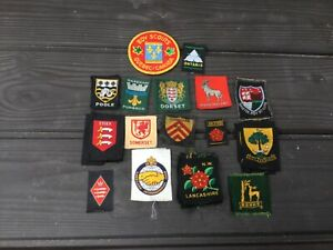 SCOUT COUNTY AND DISTRICT BADGES