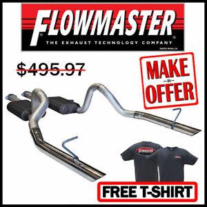 "FLOWMASTER 1999-04 Ford Mustang GT MACH 1 Bullitt 2.5"" Cat-Back Exhaust System"